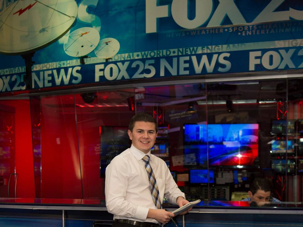 intern at Fox news station