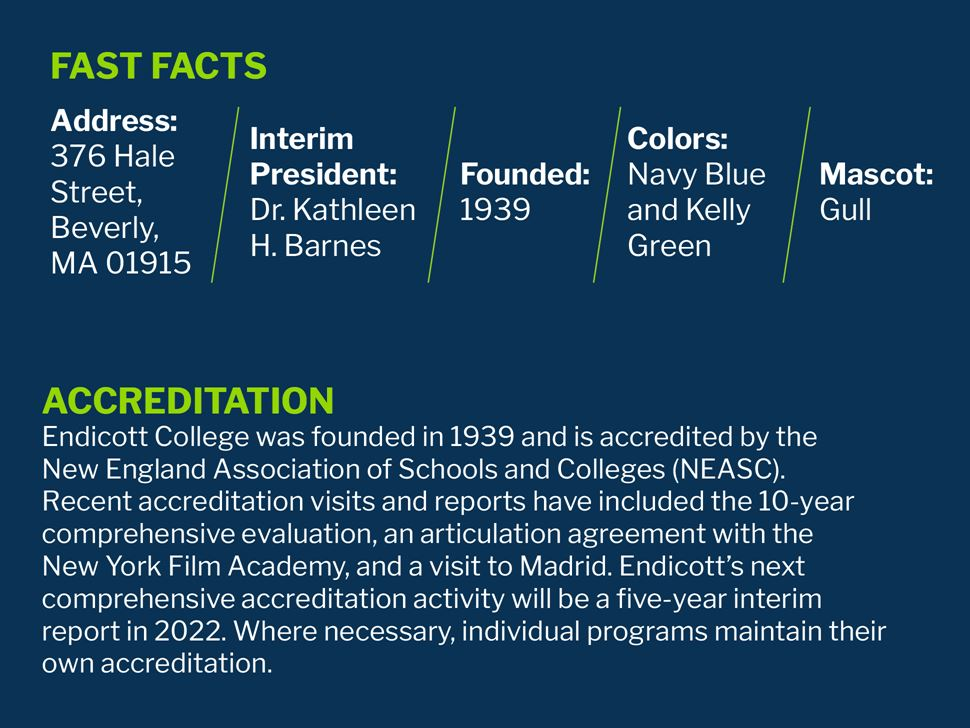 Endicott Fast Facts and Accreditation Statement