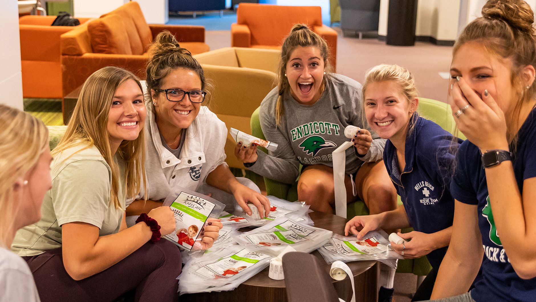 Make a Difference by Giving Back at Endicott College