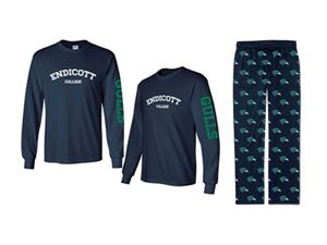 Endicott College Shirt and Pants