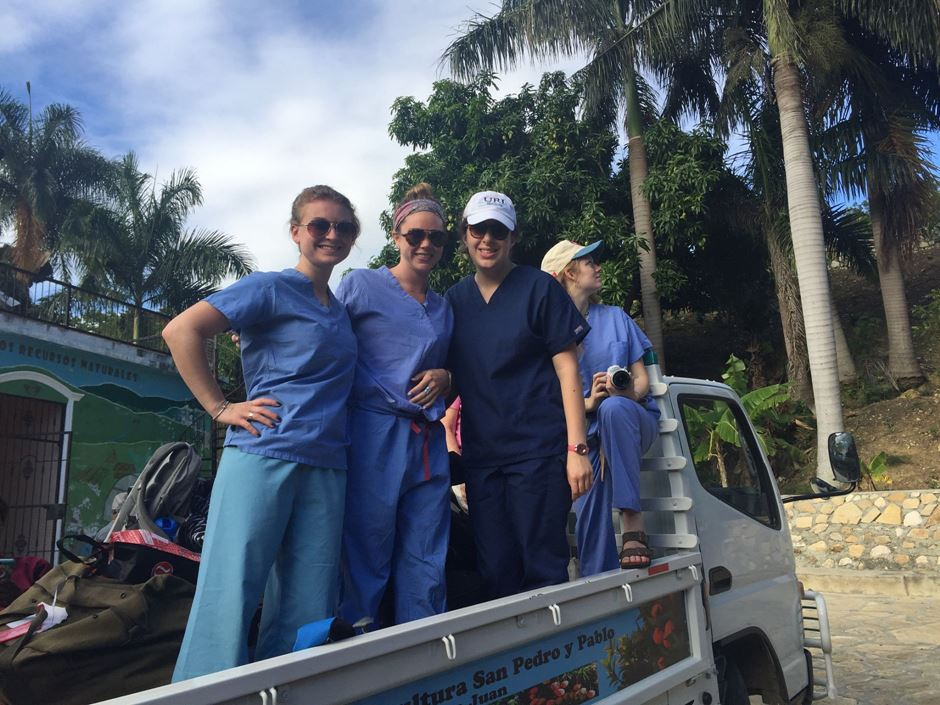 Van Loan School at Endicott College's Lia Mastrocola recounts her trip to the Dominican Republic.