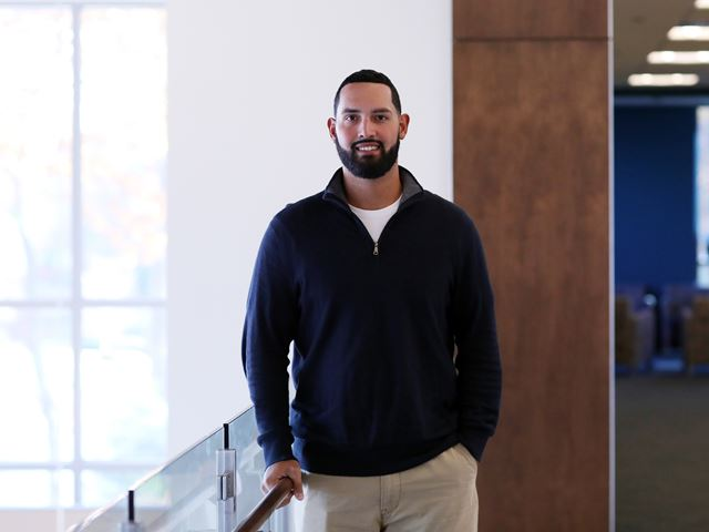 Van Loan School alumnus and Puerto Rico native Felix Zamot returns home to help FEMA after the devastating hurricane.