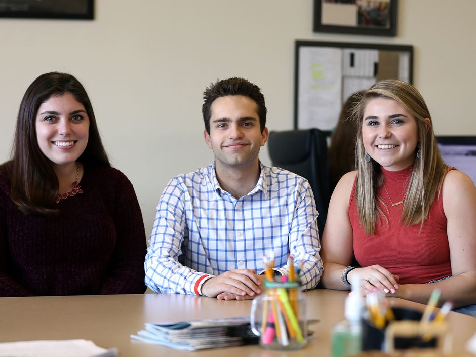 Eduardo Kreimerman '20, Emily Pereira '20, and Hannah Monbleau '19 share their perspective on being a resource for their peers.