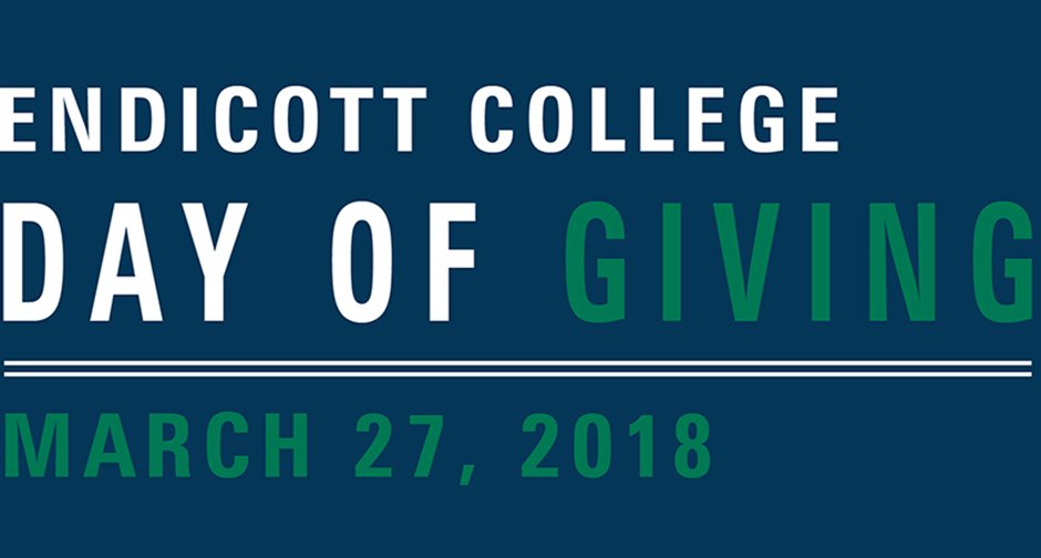 Day of Giving at Endicott College.