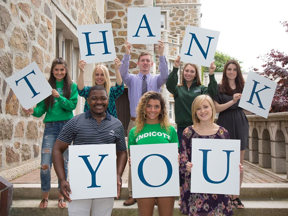2018 was a banner year for Endicott giving.