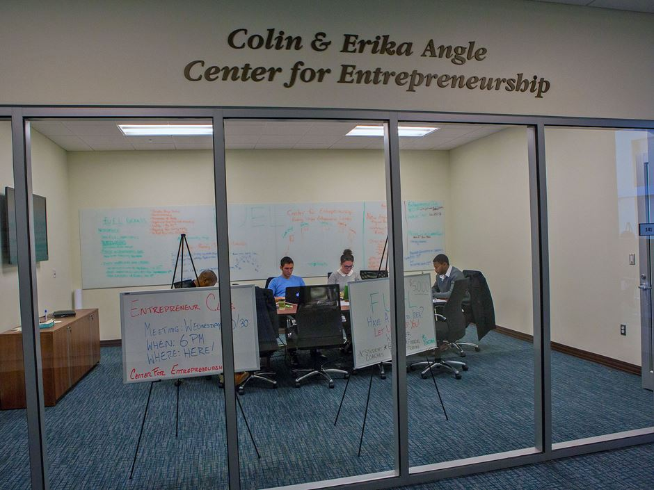 Colin and Erika Angle Center for Entrepreneurship