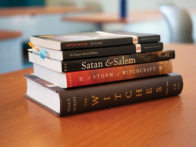 Salem Witch Trials books