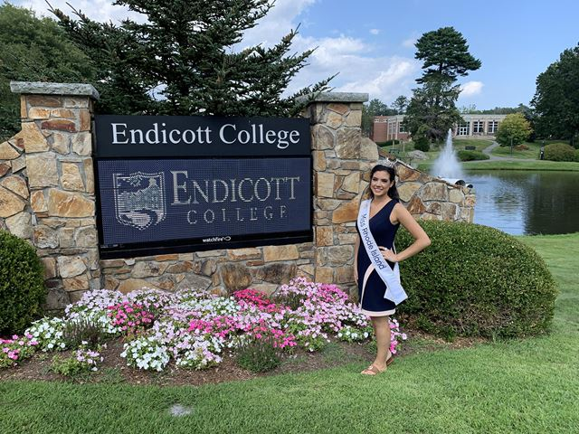 Molly Andrade an Endicott College student is Miss Rhode Island