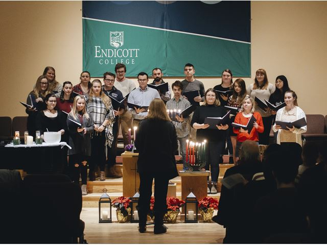 The Festival of Lights at Endicott College