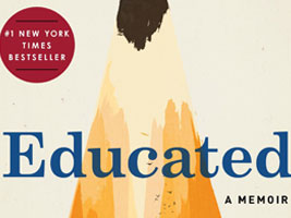 Cover for book 'Educated'