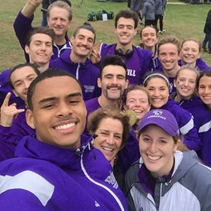 Stonehill Cross Country Team