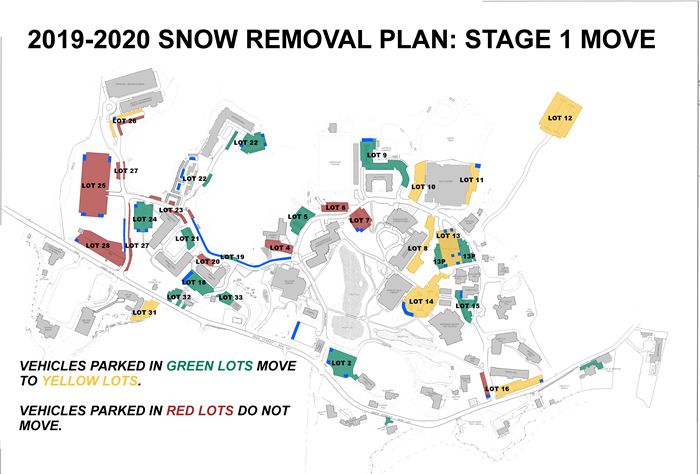 Endicott Snow Removal Plan: Stage 1 Move