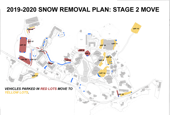 Endicott Snow Removal Plan: Stage 2 Move