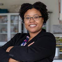 Endicott sociology professor Adilia James