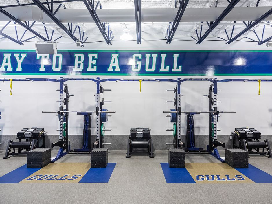 Strength and conditioning gym picture