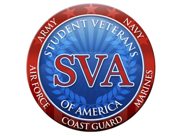 the logo for the Student Veterans of America