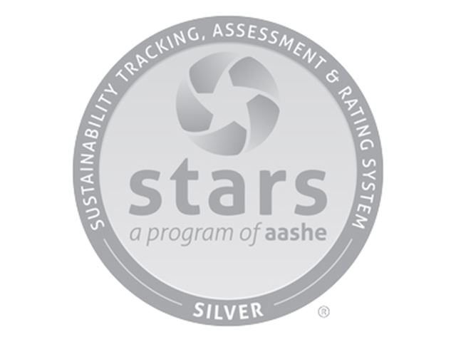 a logo for the sustainability tracking, assessment and rating system