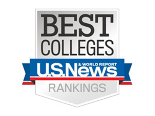 the US News' Best Colleges' rankings logo