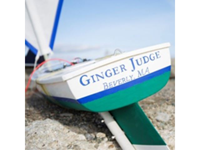 Ginger Judge Sailboat