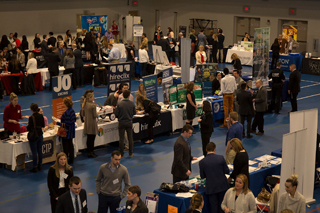 Internship and Career Fair Endicott Post Center