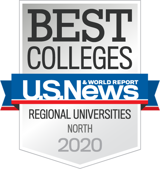 U.S. News & World Report Best Colleges, Regional Universities - North 2020 award badge